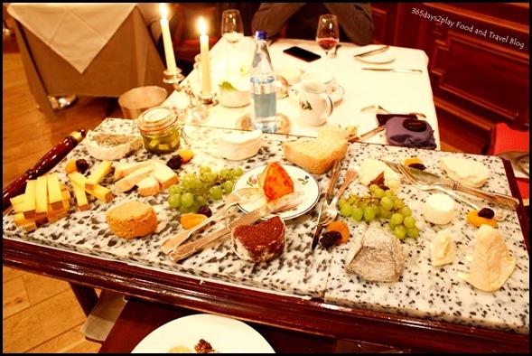 Restaurant Gourmet de l'Ile - Cheese Trolley