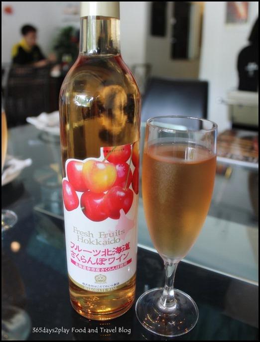 Sunray Cafe - Peach Wine