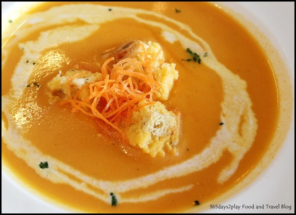 Sunray Cafe - Soup of the Day (Carrot Soup) $5 (2)