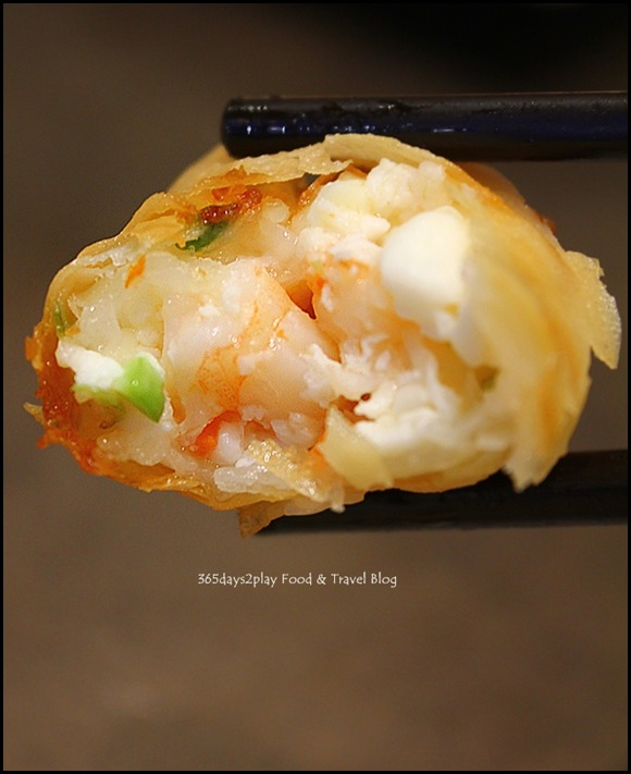 Tim Ho Wan - Deep Fried Bean Curd Skin Roll with Shrimp (4)