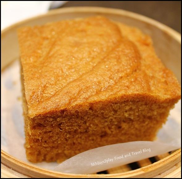 Tim Ho Wan - Steamed Egg Cake