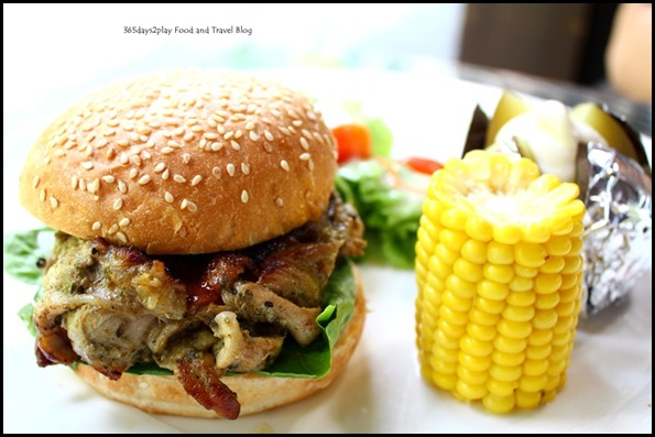 Bark Cafe - Bark Cafe - Honey Glazed Chicken Burger $16 (3)