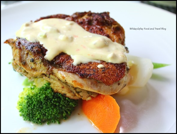 Bark Cafe - Russian Grilled Chicken $18.90