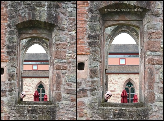 Hornbach monastery ruins