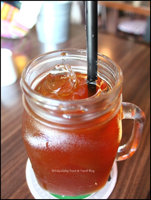 Lots Gourmet Stop - Iced Tea $3.50 with peach lychee flavour $1
