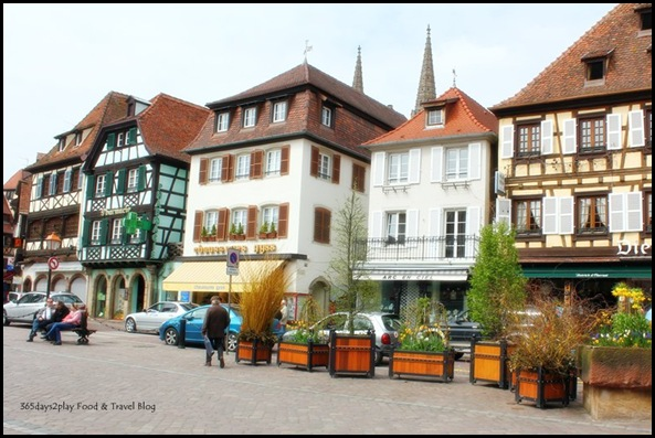 Obernai in Alsace France Buildings