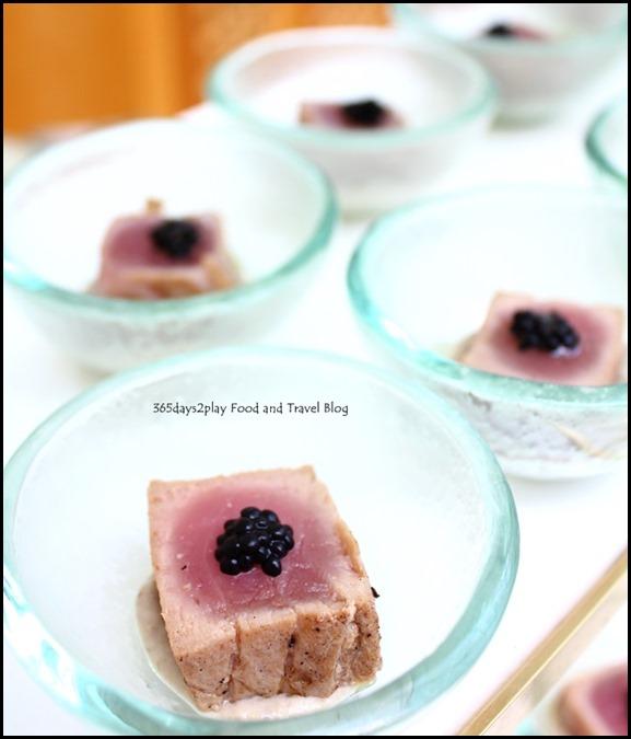 Ritz Carlton Afternoon Tea - Seared Eggplant with Baba Ganoush Salad (3)
