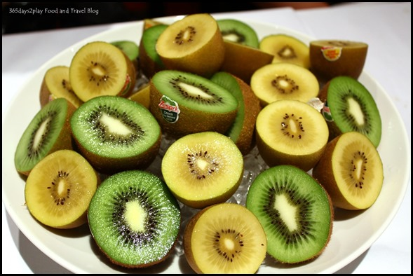 Bowl of Green and Gold Kiwifruit