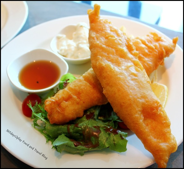 Jewel Cafe & Bar - Fish and Chips $22