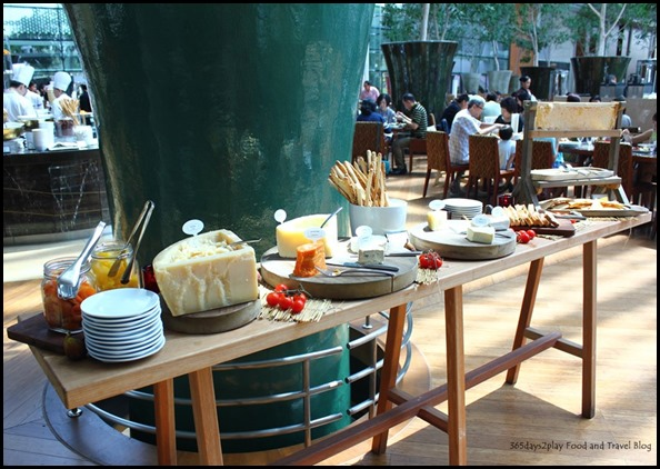 Rise Restaurant Marina Bay Sands - Cheese Station