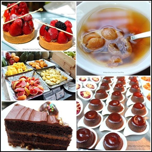 Rise Restaurant Marina Bay Sands - Dessert Counter