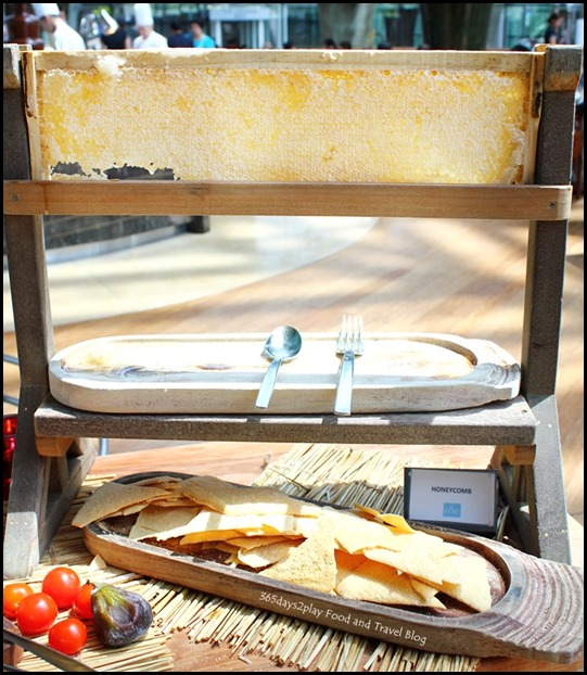 Rise Restaurant Marina Bay Sands - Honeycomb