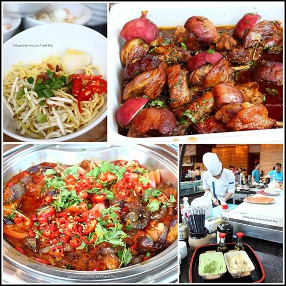 Rise Restaurant Marina Bay Sands - Hot Stations
