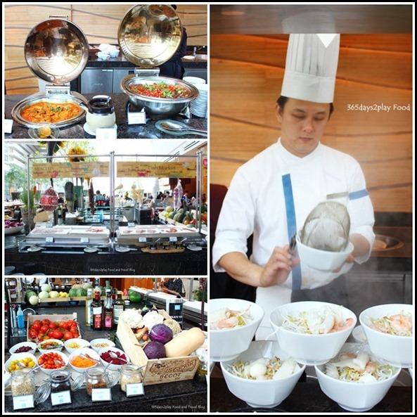 Rise Restaurant Marina Bay Sands -Hot Stations