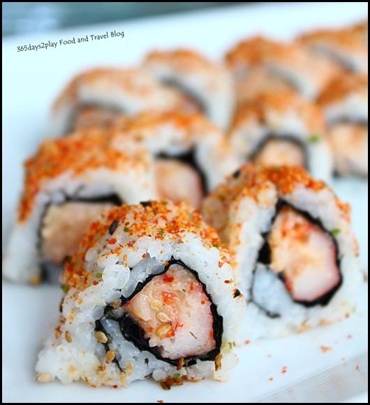 Rise Restaurant Marina Bay Sands - Maki roll