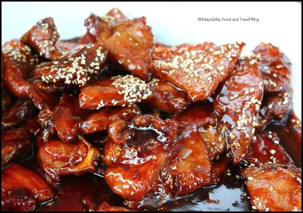 Rise Restaurant Marina Bay Sands - Pork Chops