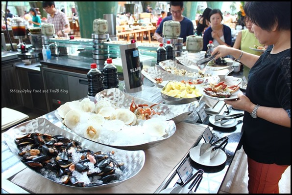 Rise Restaurant Marina Bay Sands - Seafood Station