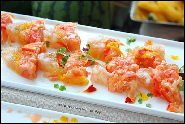 Rise Restaurant Marina Bay Sands - Seafood Terrine