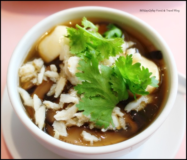 Thanying - Kra Prow Pla Nam Daeng (Thai Teochew Fish Maw Soup) $16