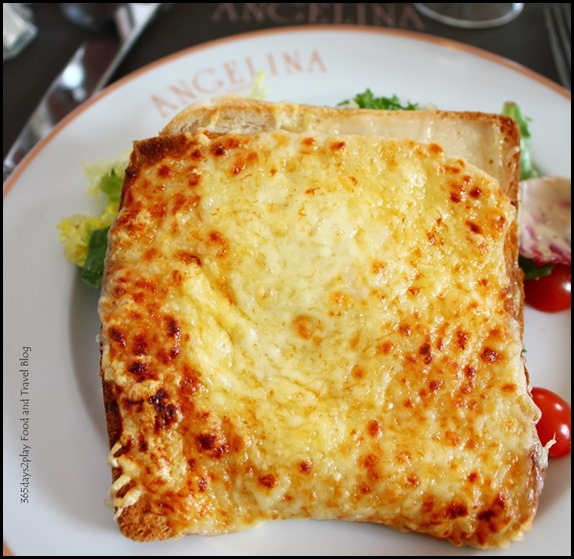 Angelina Tearoom Paris Croque Monsieur