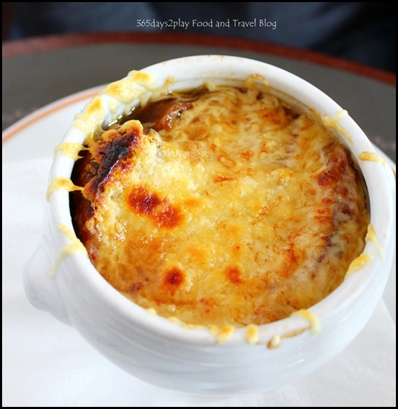 Angelina Tearoom Paris French Onion Soup