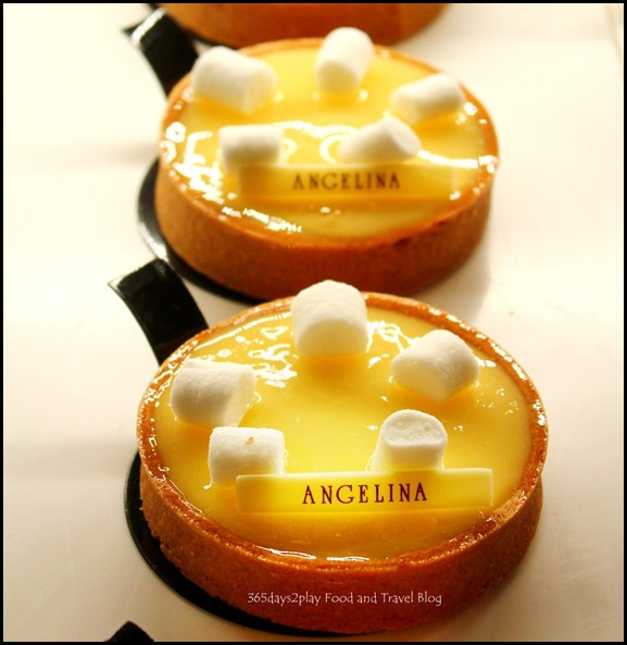 Angelina Tearoom Paris - Lemon Tarts