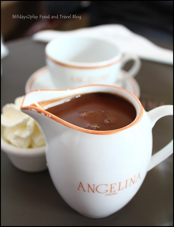Angelina Tearoom Paris famous Hot Chocolate (1)
