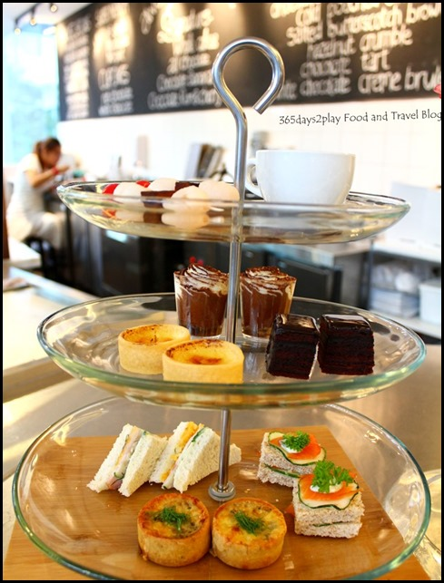 Awfully Chocolate  Afternoon Tea Set (2)