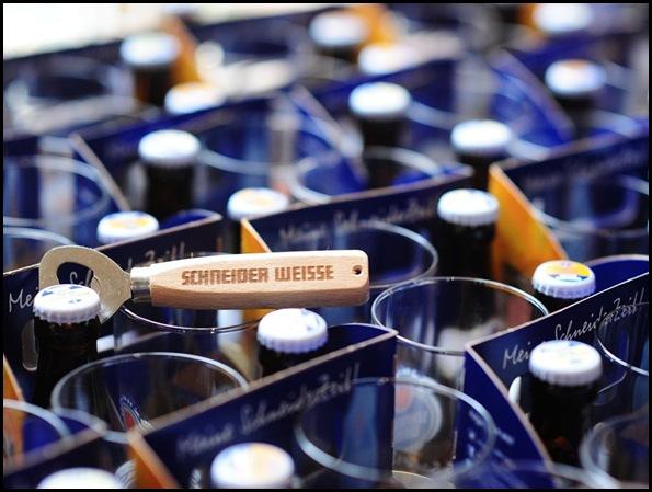 Schneider Weisse bottles
