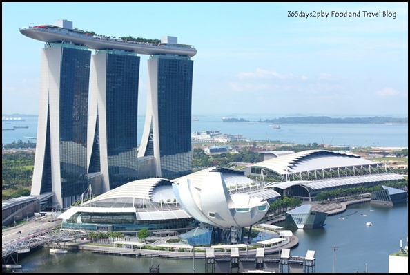 View of Marina Bay Sands from Pan Pacific Singapore