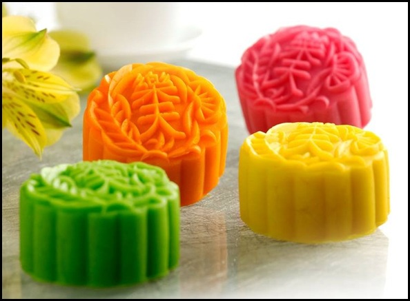 Assorted Fruit Snowskin Mooncake