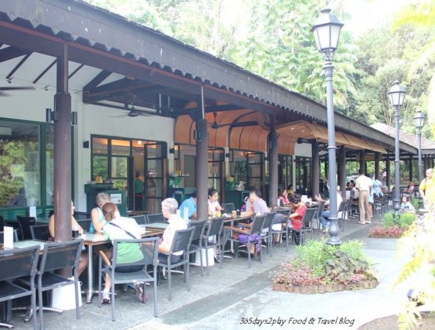 What to eat at the singapore botanic gardens cafes and for Au jardin restaurant singapore botanic gardens