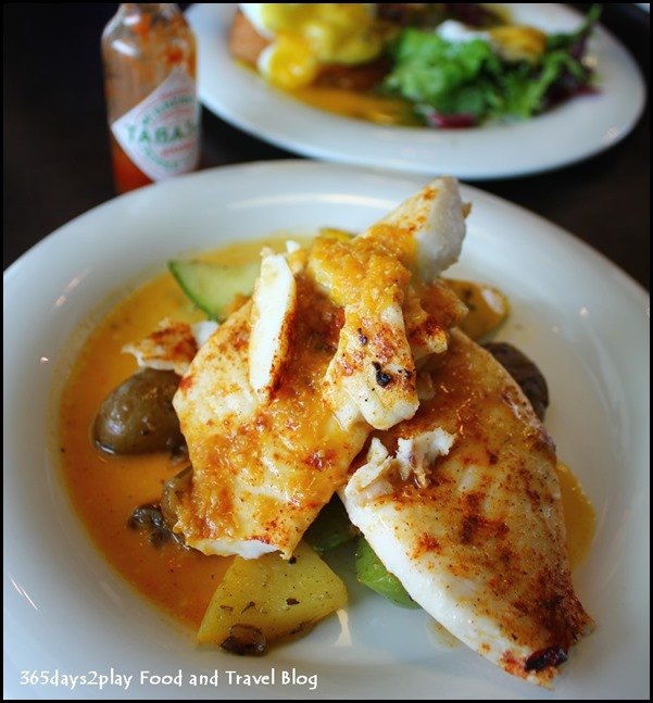 Backstage Cafe - Grilled Snapper $16 (1)
