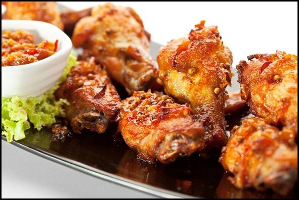 Beer Tavern Crispy Chicken with Prawn Paste