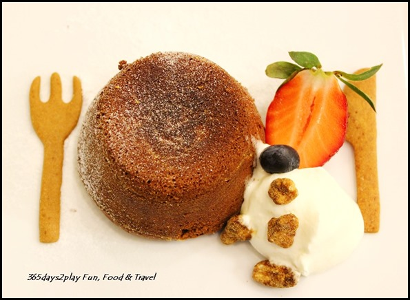 Bread Society - Salted Caramel Lava Chocolate Cake $6 (2)