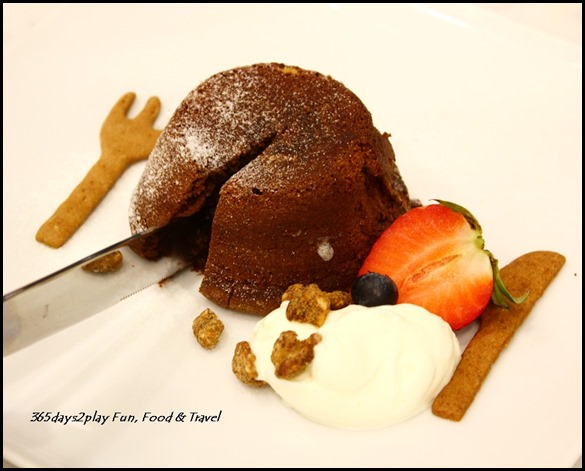 Bread Society - Salted Caramel Lava Chocolate Cake $6