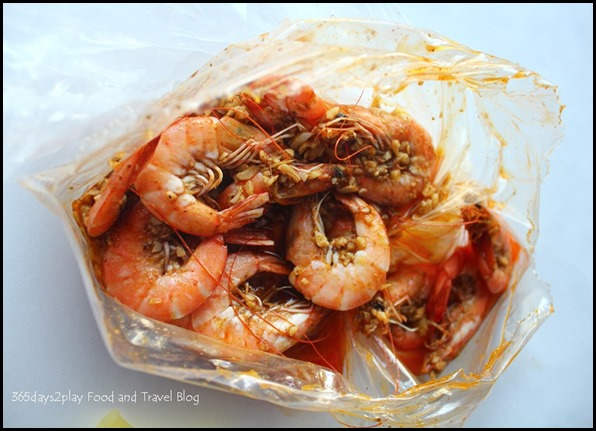 Crab in Da Bag  - Prawns $20 (1)