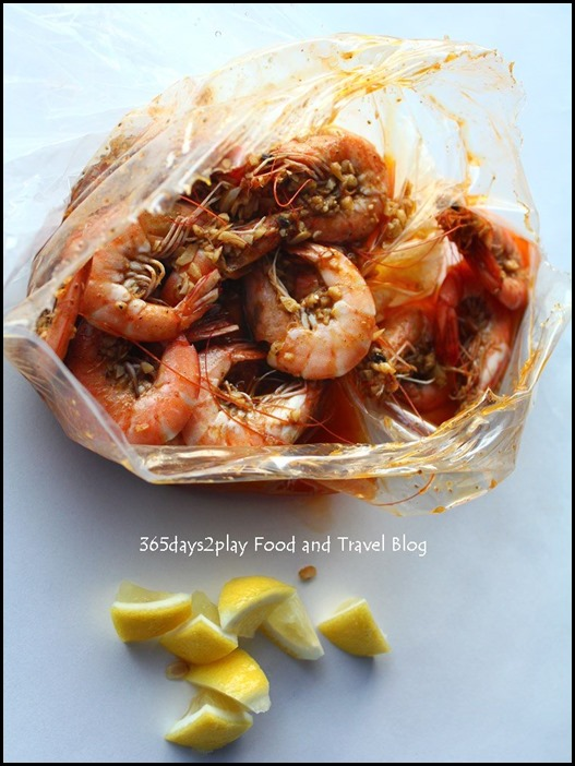 Crab in Da Bag - Prawns $20