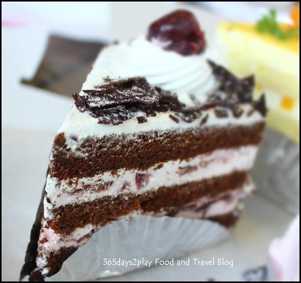 Pine Garden Cake Shop - Black Forest $2.50 (3)