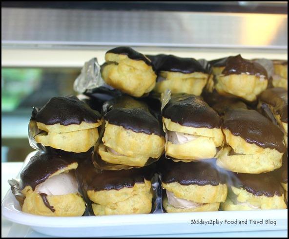 Pine Garden Cake Shop - Chocolate Eclairs