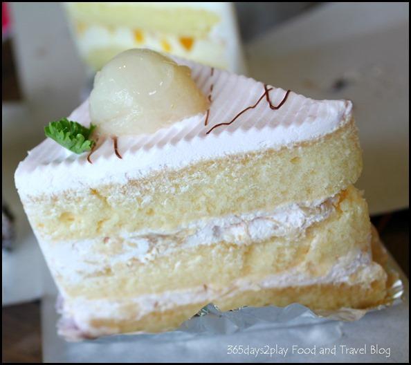 Pine Garden Cake Shop - Lychee Martini Cake $2.50