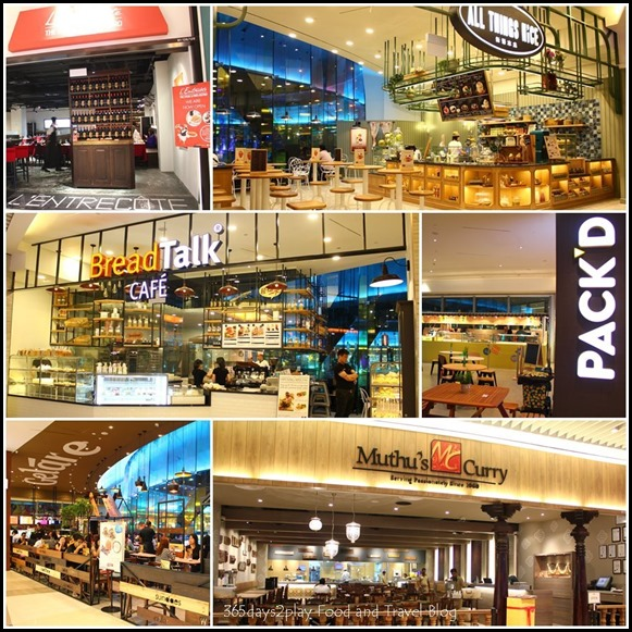 Suntec City Basement Restaurants