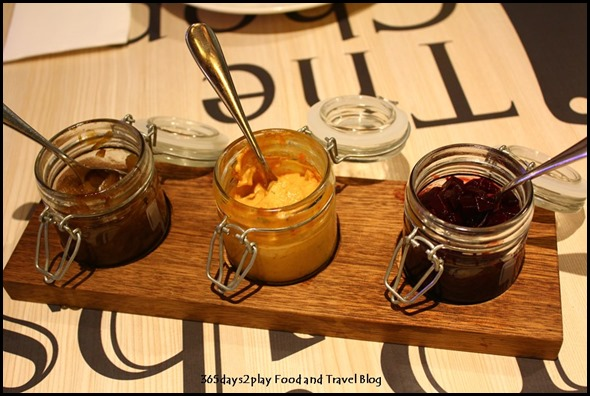 The Chop House - Beetroot Chutney, Chilli Mustard and Onion Jam (2)