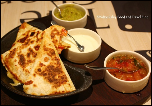 The Chop House - Quesadillas $15 (2)