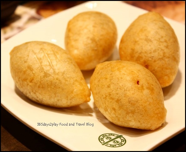 Tim Ho Wan - Deep fried dumpling with salted meat $3.80