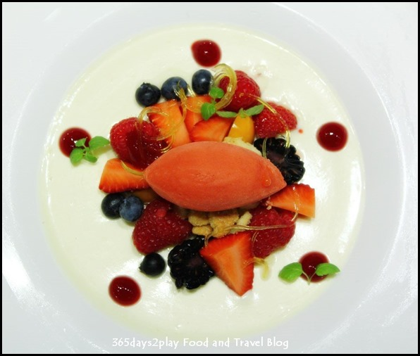 Zafferano -Homemade fresh fruit sorbet $12