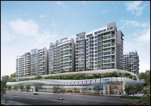 Bedok Mall and Bedok Residences