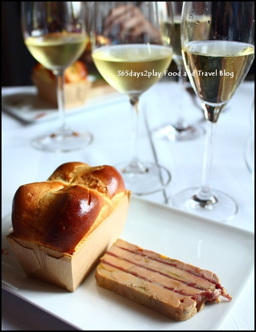 Foie Gras Terrine with Warm Brioche by Chef Francois Mermilliod (2)