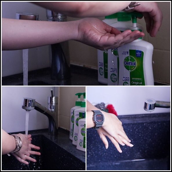 How to wash your hands the proper way
