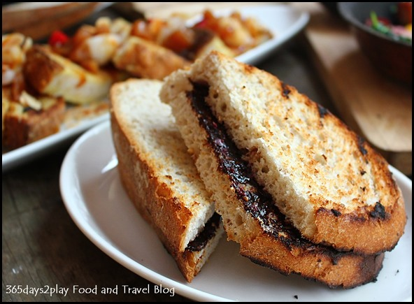 Intrepid Gastro Bar - Vegemite, Mate! – Kalamata olive butter on sourdough toast ($4.90 )